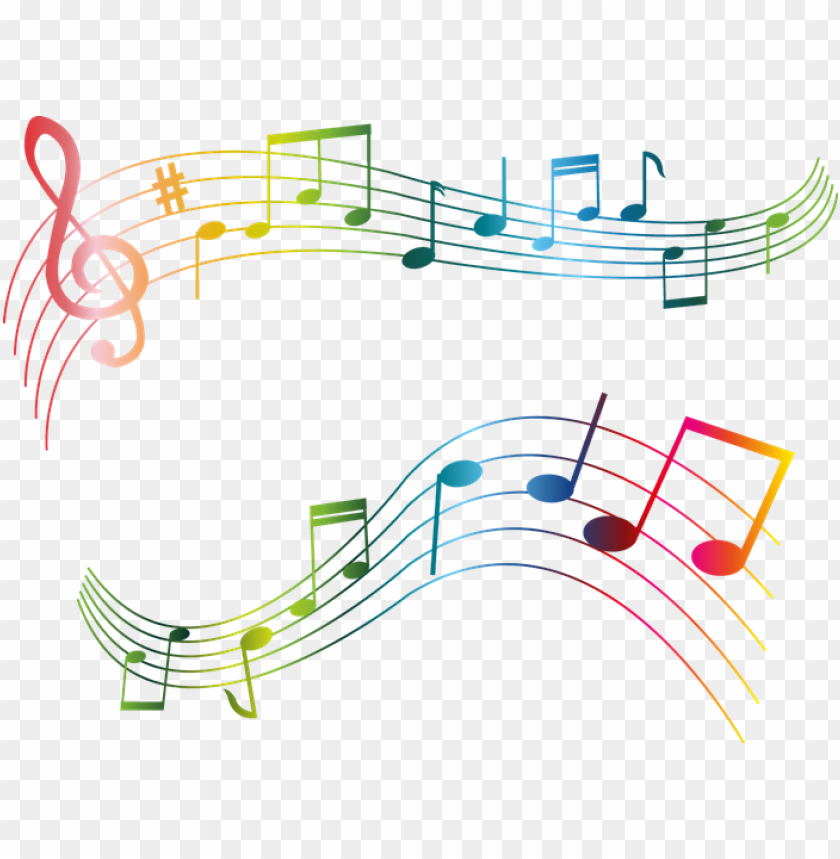 free PNG colorful musical notes png PNG image with transparent background PNG images transparent