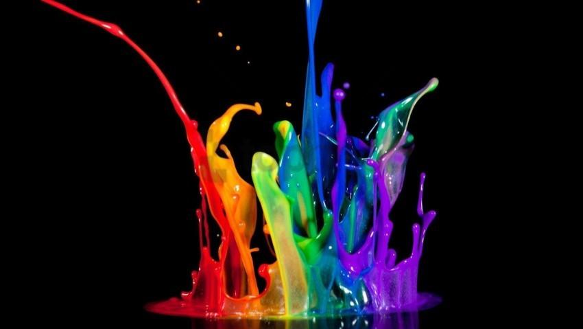 free PNG colorful paint splash wallpaper background best stock photos PNG images transparent
