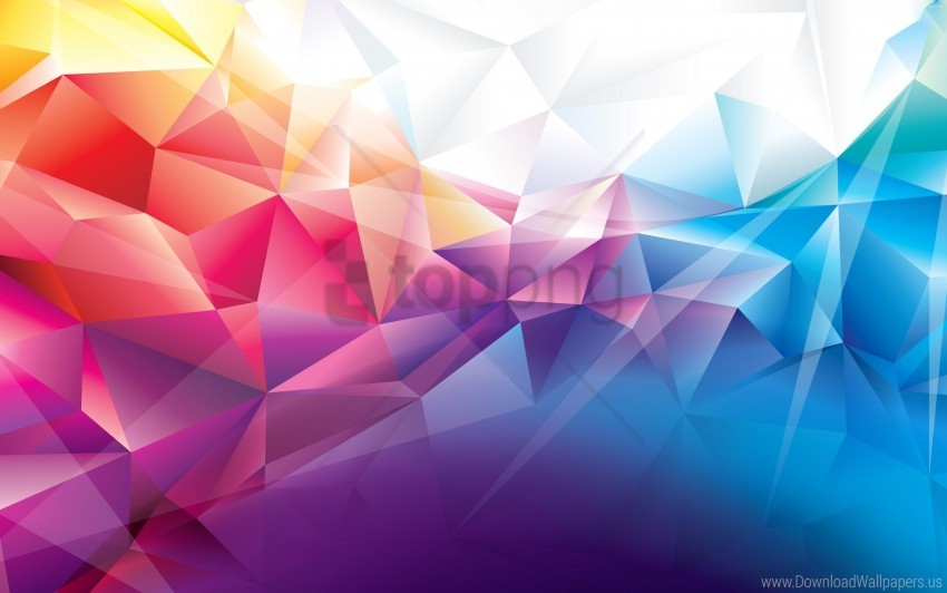 free PNG colorful, polygons wallpaper background best stock photos PNG images transparent