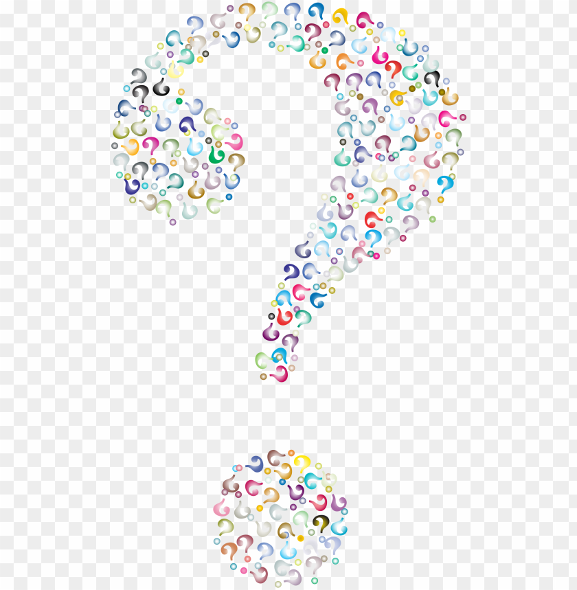 free PNG colorful question marks png - question marks background PNG image with transparent background PNG images transparent