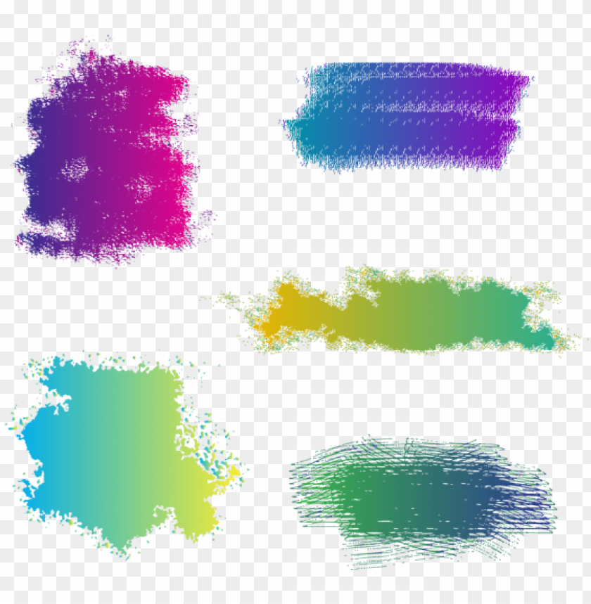free PNG colorful watercolor brush stroke vector, colorful, - watercolor painti PNG image with transparent background PNG images transparent