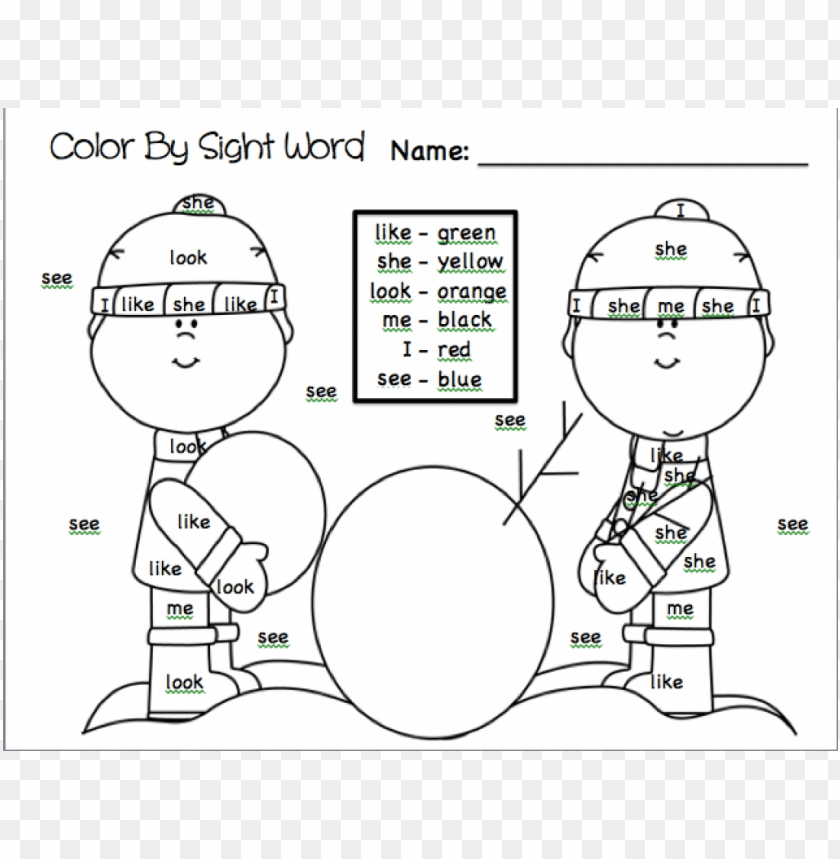 - Coloring Pages Color Words PNG Image With Transparent Background TOPpng