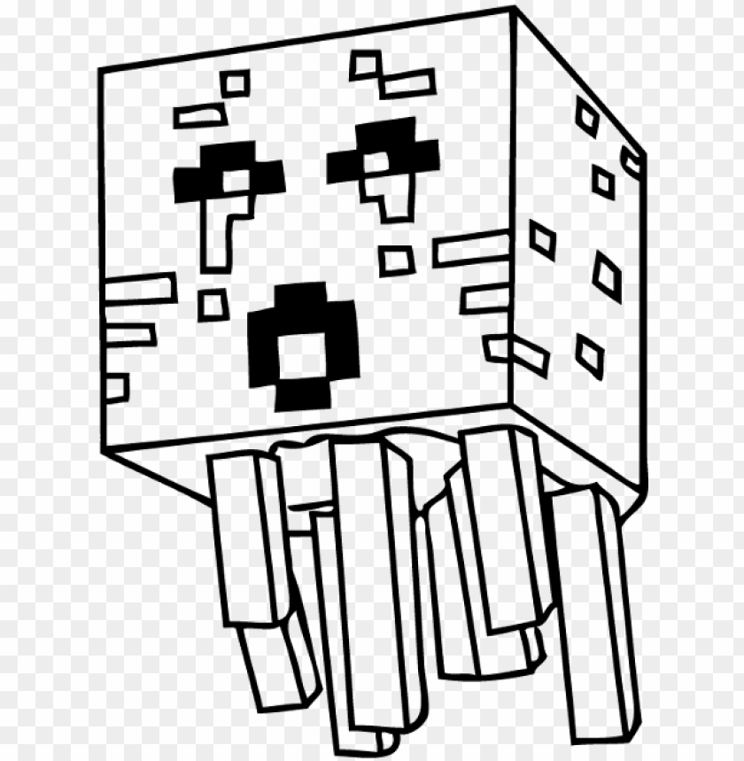 - Coloring Pages Drawing Minecraft PNG Image With Transparent Background  TOPpng