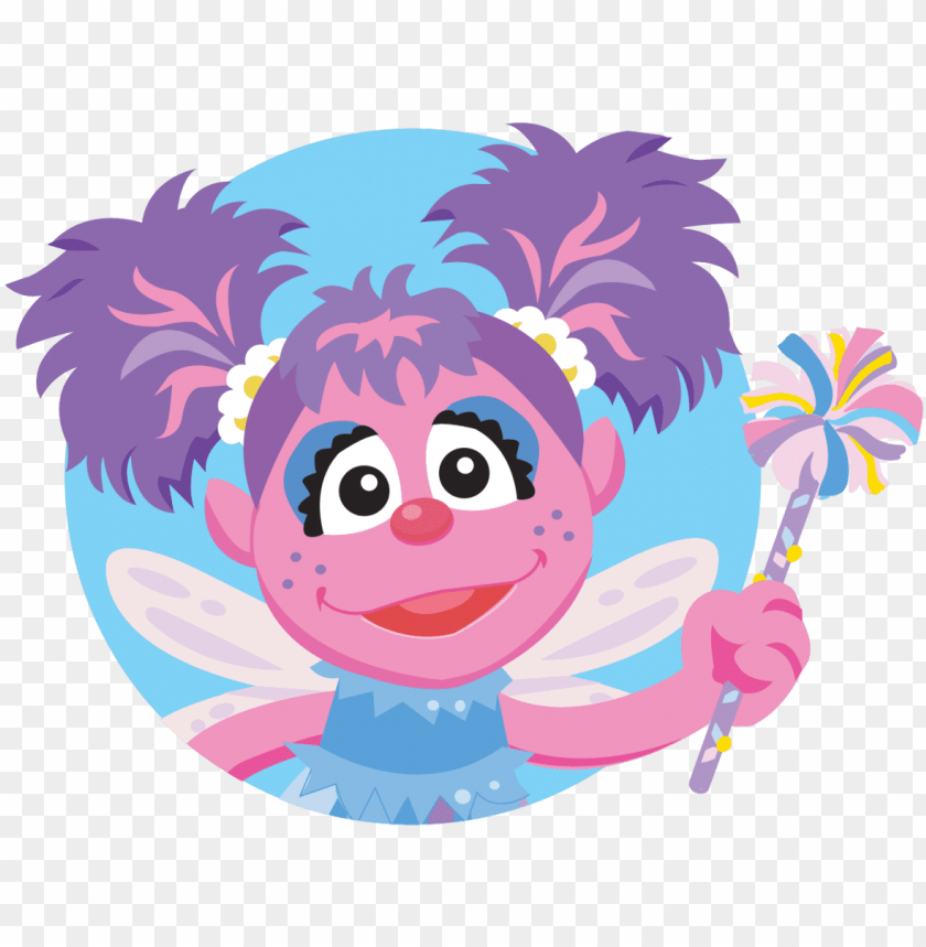 free PNG coloring pictures of sesame street characters colouring - abby sesame street japa PNG image with transparent background PNG images transparent