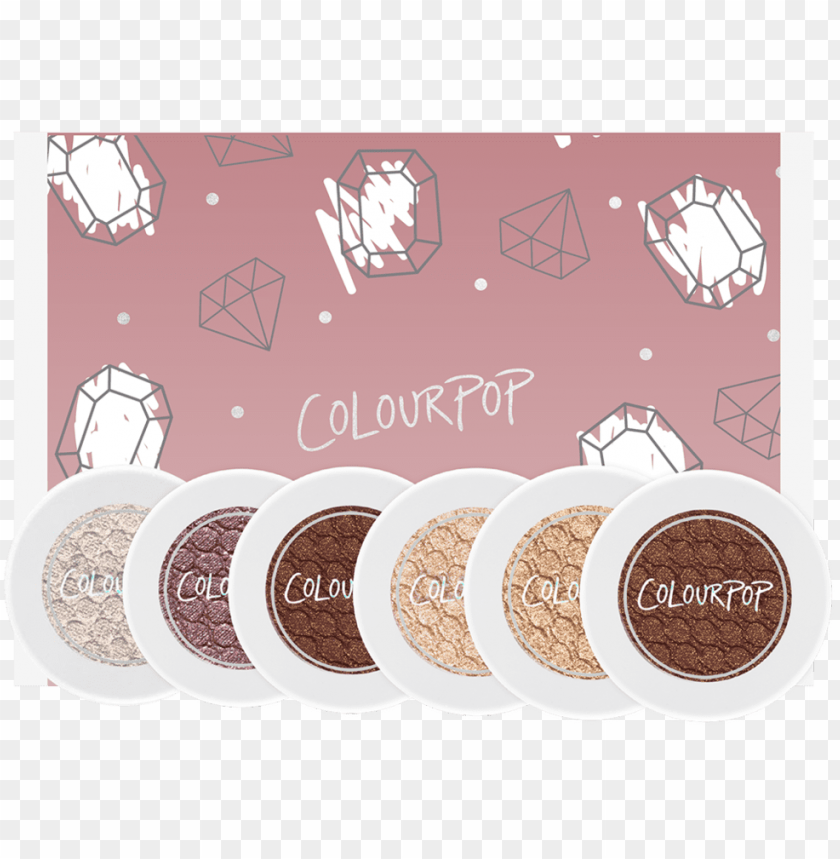 free PNG colourpop eye shadow set party trick PNG image with transparent background PNG images transparent