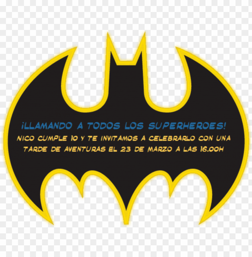 Com Invitaciones Batman Superheroe Super Heroe Fiesta