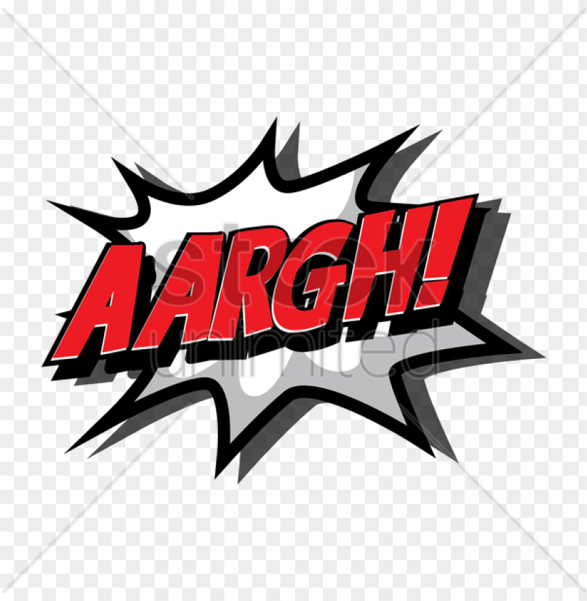 free PNG comic effect aargh v矢量图形 - comics PNG image with transparent background PNG images transparent