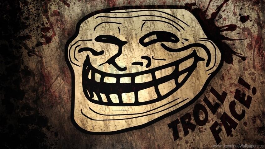 Trollface Realistic