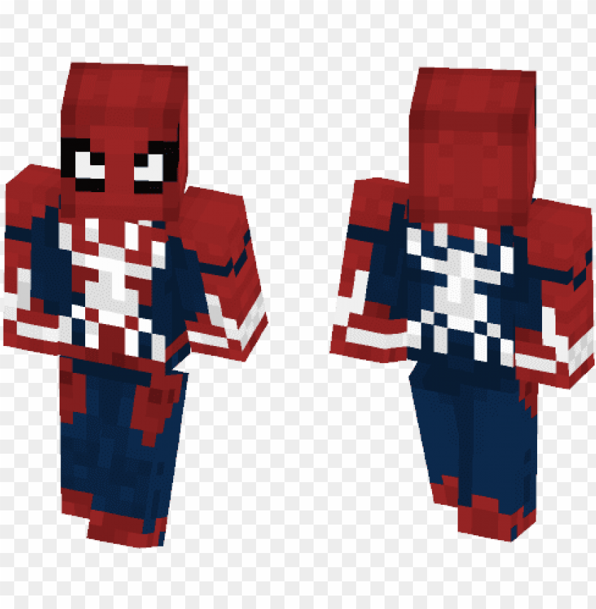 free PNG comics minecraft skins - skin spider man ps4 minecraft PNG image with transparent background PNG images transparent