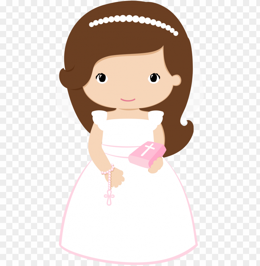 free PNG communion girl  wave hair PNG image with transparent background PNG images transparent