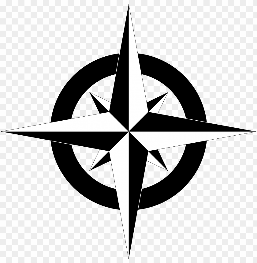free PNG compass clipart north arrow - simple map compass vector PNG image with transparent background PNG images transparent