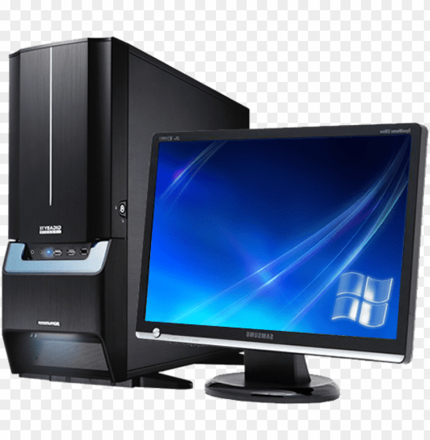 Computer Desktop Pc Transparent Png File My Computer Icon Ico Download Png Image With Transparent Background Toppng