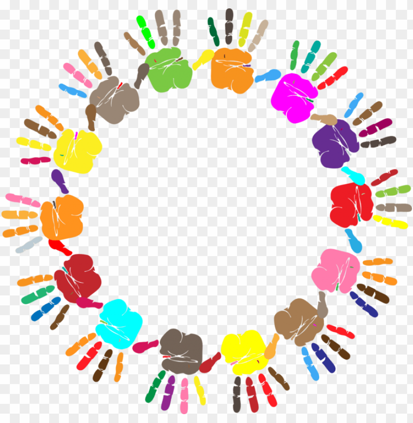 free PNG computer icons microsoft word hand watercolor painting - colorful hand print PNG image with transparent background PNG images transparent