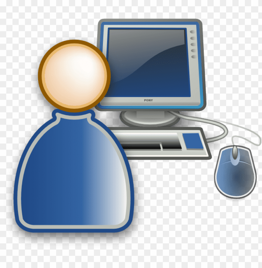 free PNG computer user icon free - computer and user icon png - Free PNG Images PNG images transparent
