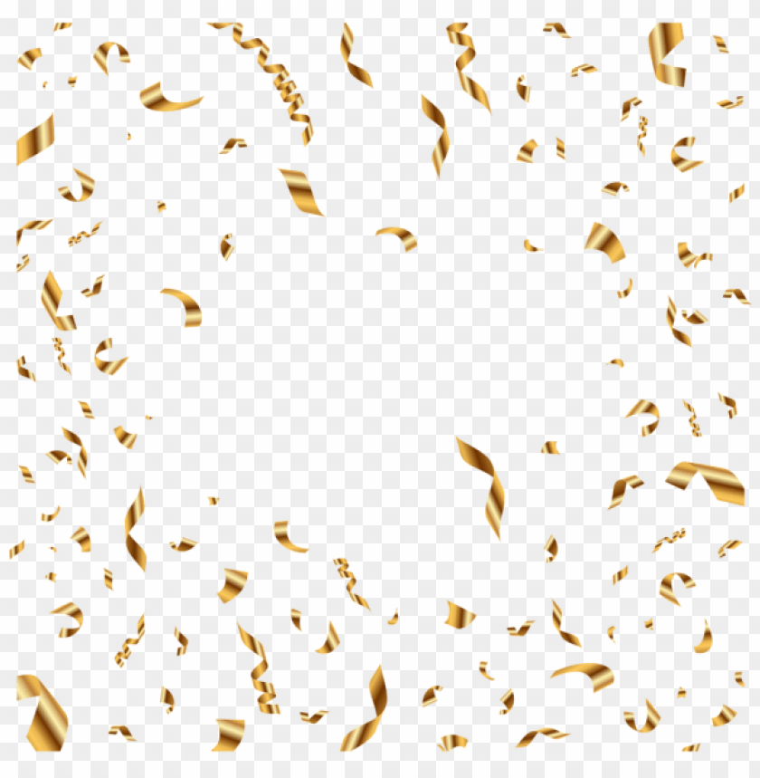 free PNG Download confetti gold transparent png images background PNG images transparent