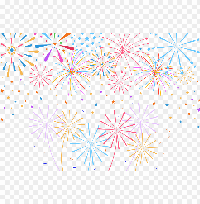 free PNG confetti party clip art - firework celebration PNG image with transparent background PNG images transparent