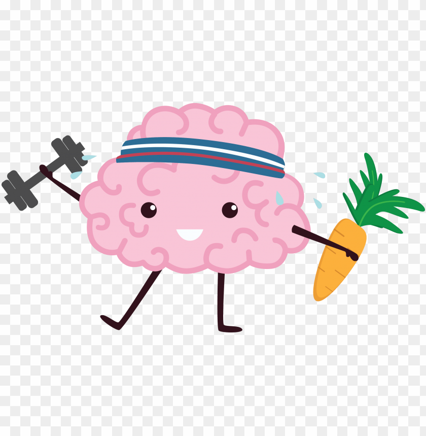 free PNG confused brain png svg freeuse - brain cartoon PNG image with transparent background PNG images transparent
