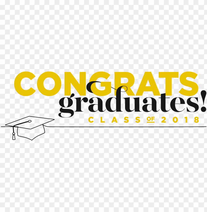 free PNG congratulations to our 2018 graduates - congratulations graduation 2018 card PNG image with transparent background PNG images transparent