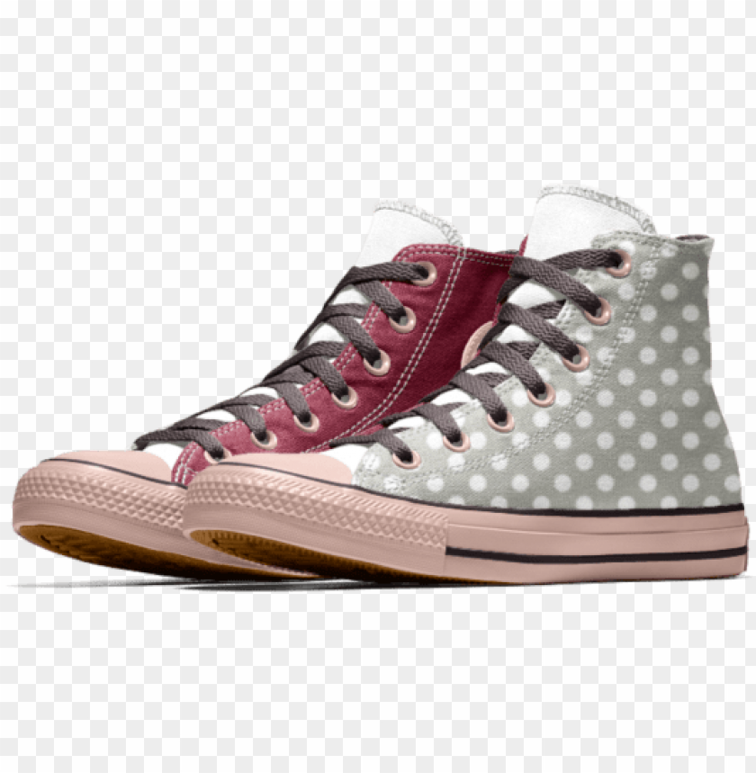 free PNG converse custom chuck taylor all star high top shoe - chuck taylor all star high to PNG image with transparent background PNG images transparent