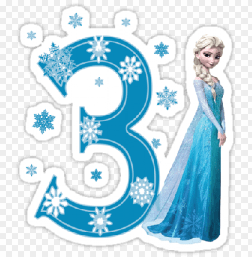 Awesome Convite Elsa Frozen Frozen Happy 3Rd Birthday Png Image With Personalised Birthday Cards Paralily Jamesorg
