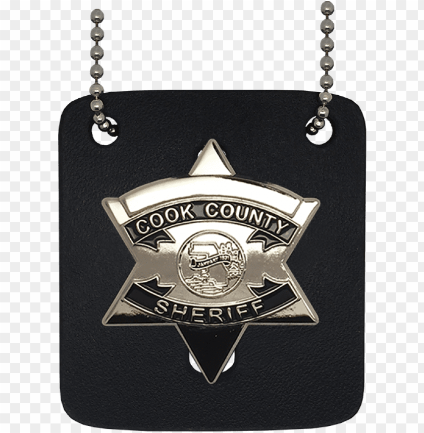 free PNG cook county sheriff replica star badge - cook county sheriff neck badge PNG image with transparent background PNG images transparent