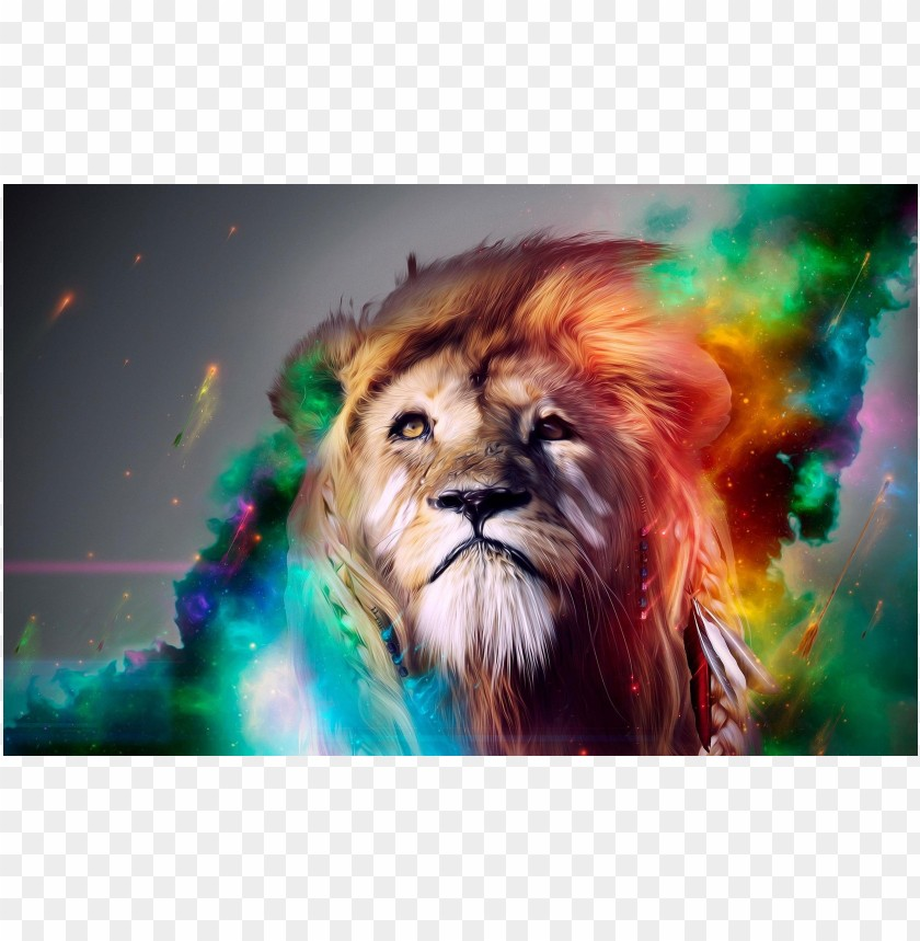 free PNG Cool pictures lion background  PNG images transparent