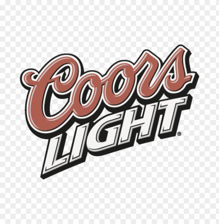 free PNG coors light slant vector logo PNG images transparent