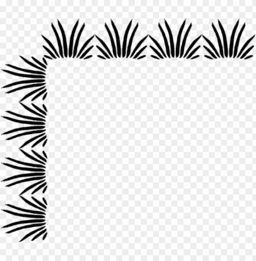 free PNG corner border design - png transparent corner border black and white PNG image with transparent background PNG images transparent