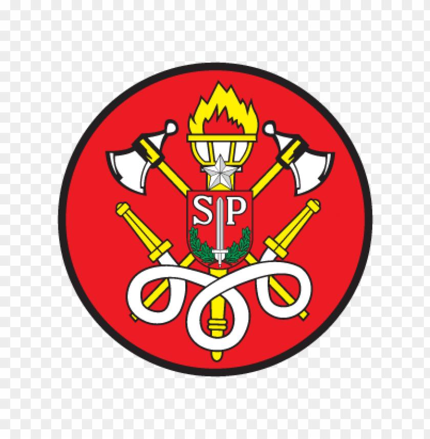 free PNG corpo de bombeiros sao paulo logo vector PNG images transparent