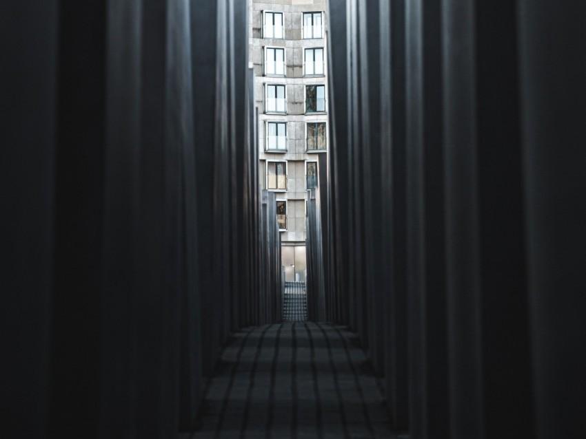 free PNG corridor, passage, architecture, building, pillars background PNG images transparent