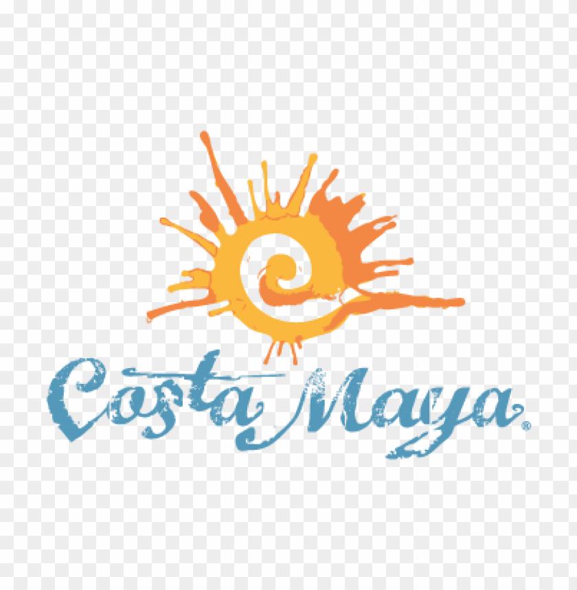 free PNG costa maya vector logo PNG images transparent