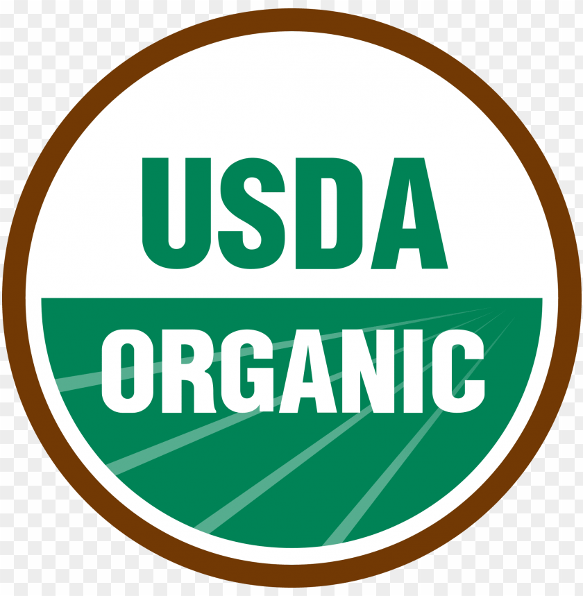 cough relief organic bagged lozenges - usda organic logo PNG image with transparent background@toppng.com