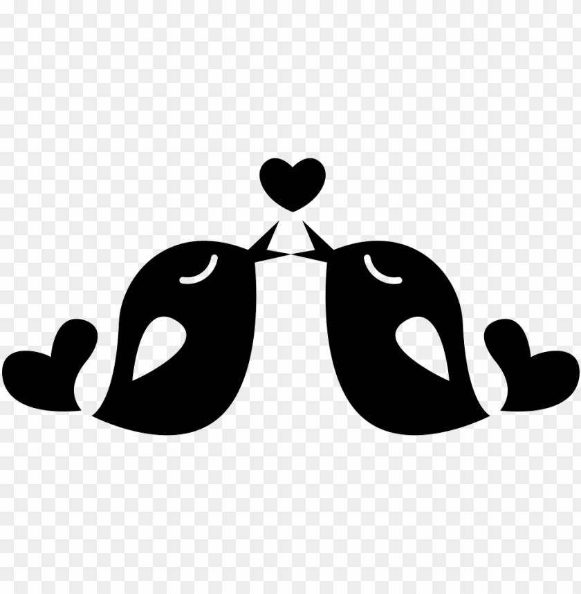 free PNG couple of love birds in love svg  icon free- love couple icon png - Free PNG Images PNG images transparent