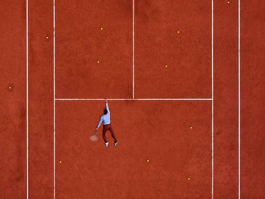 free PNG court, tennis, sportsman, marking, lines background PNG images transparent