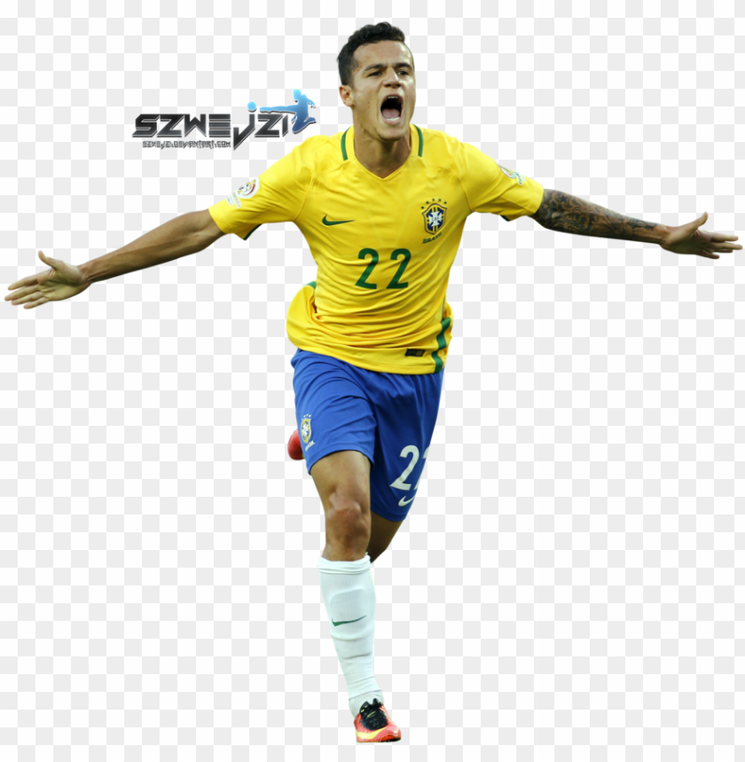 free PNG coutinho brazil png - philippe coutinho brasil PNG image with transparent background PNG images transparent