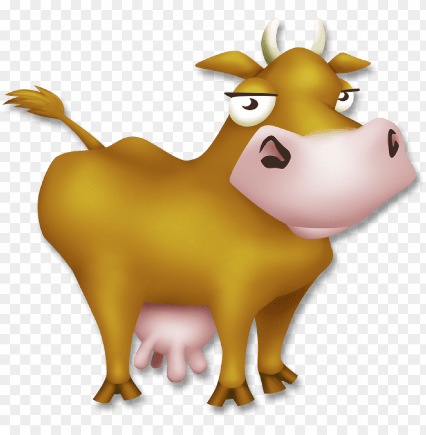 free PNG cow - hay day cow PNG image with transparent background PNG images transparent