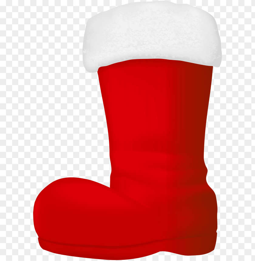 free PNG cowboy christmas boot - santa claus boots clip art PNG image with transparent background PNG images transparent
