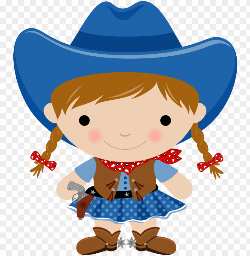 Cowboy E Cowgirl Cowgirl And Cowboy Clipart Png Image With