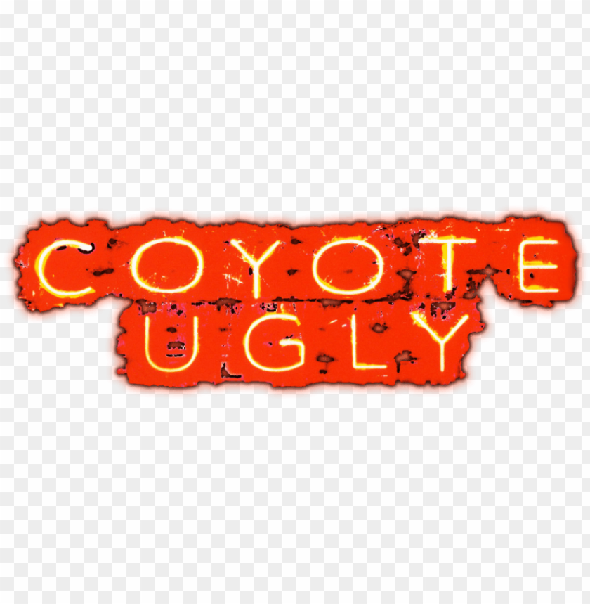 free PNG coyote ugly movie logo PNG image with transparent background PNG images transparent