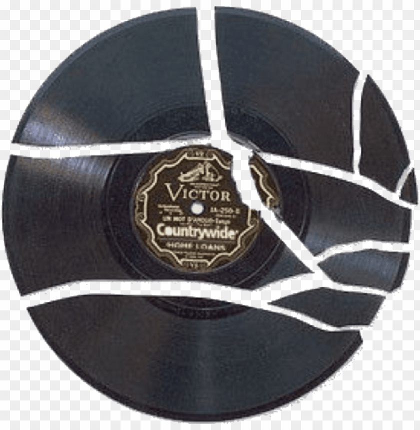 free PNG cracked broken record records freetoedit - catcher in the rye broken record PNG image with transparent background PNG images transparent