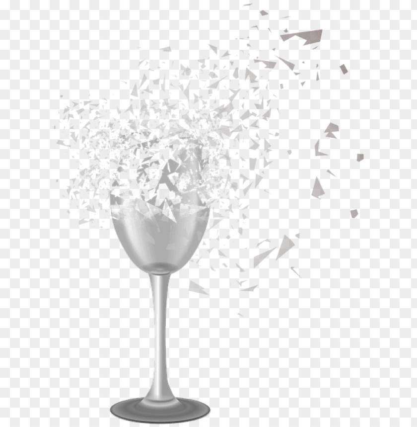 free PNG cracked glass transparent png - broken champagne glass PNG image with transparent background PNG images transparent