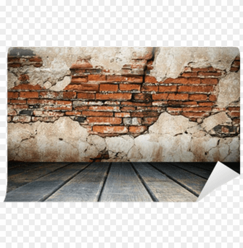 free PNG cracked plaster of old brick wall wall mural pixers - wall PNG image with transparent background PNG images transparent