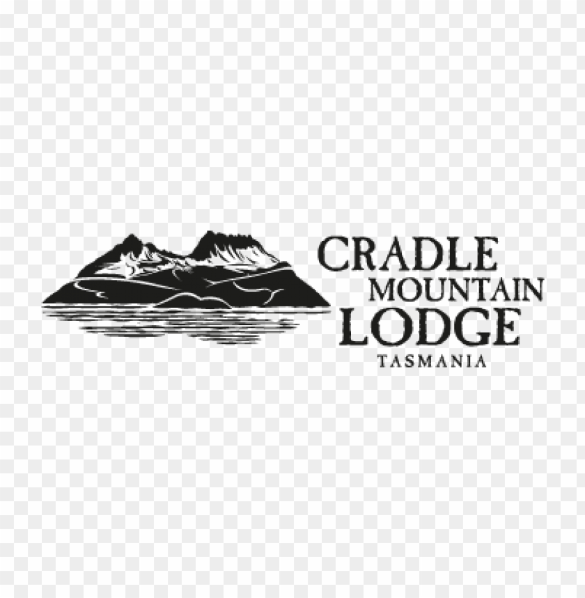 free PNG cradle mountain lodge (.eps) vector logo PNG images transparent