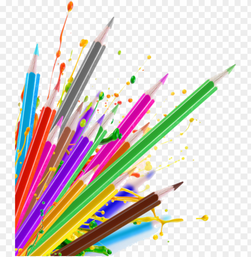 free PNG crayon border png - mont marte colour pencils 36pce - essential colours PNG image with transparent background PNG images transparent