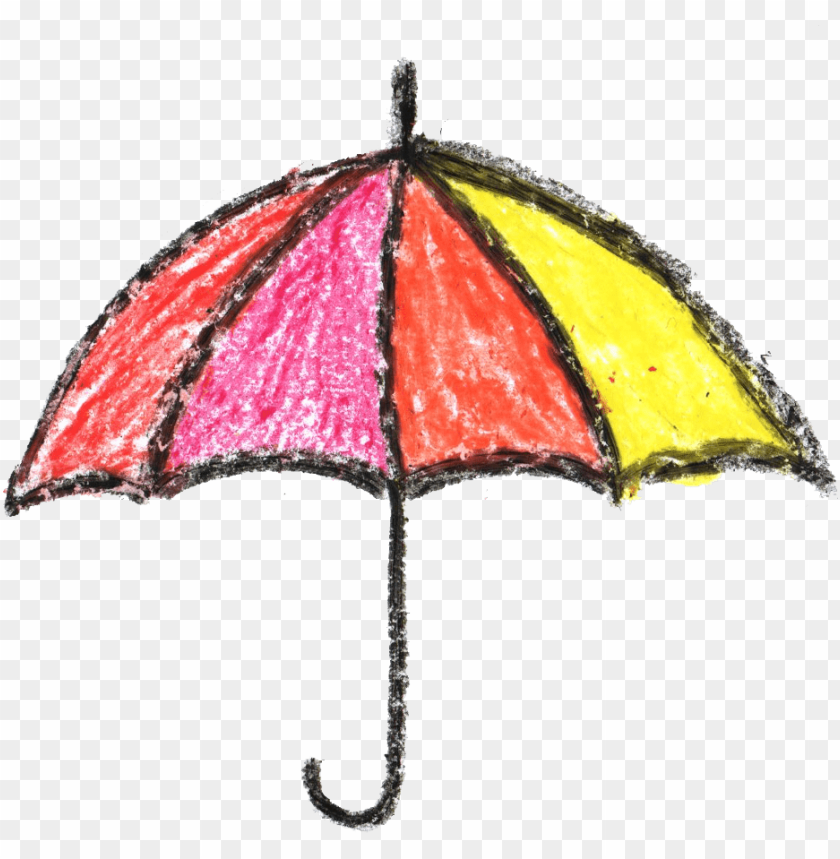 free PNG crayon umbrella drawing png - Free PNG Images PNG images transparent