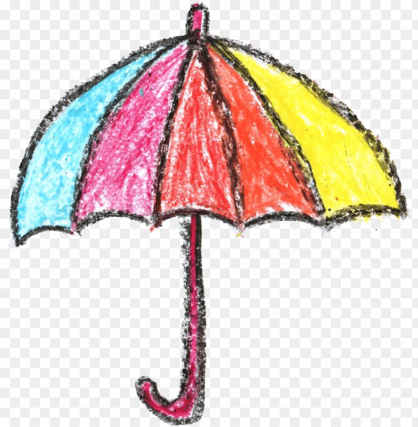 free PNG crayon umbrella drawing png - Free PNG Images PNG images transparent