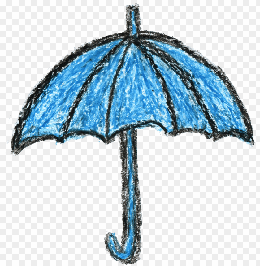 crayon umbrella drawing png - Free PNG Images@toppng.com