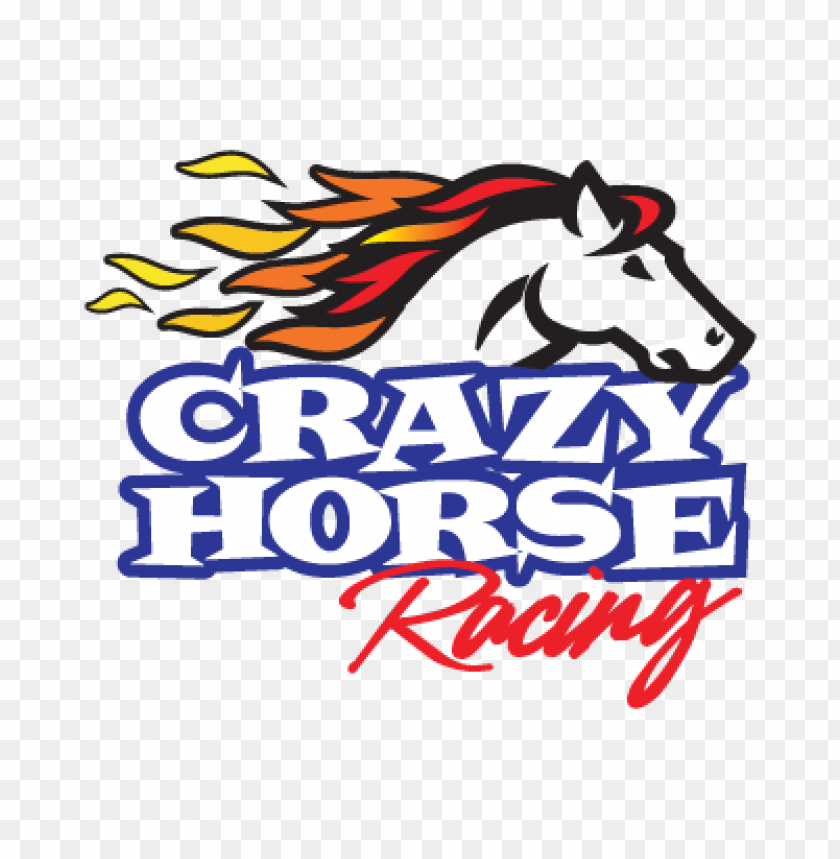 Crazy Horse Racing Logo Vector Toppng