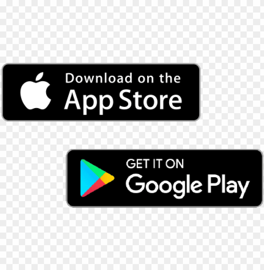 free PNG create your page with app store / play store links - apple and google play store logos PNG image with transparent background PNG images transparent