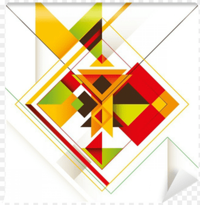 free PNG creative composition with colorful abstract shapes - abstract shapes compositio PNG image with transparent background PNG images transparent